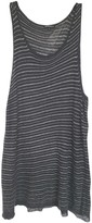 Ann Demeulemeester Anthracite Cotton Top for Women