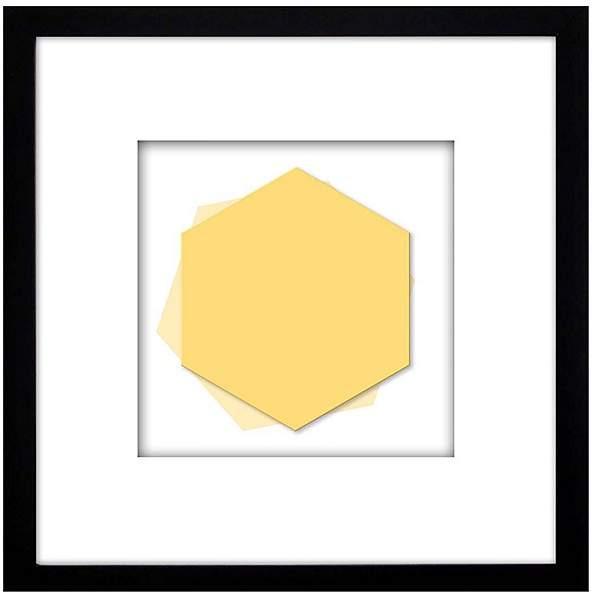 PTM Images Geo Hexagon Wall Art