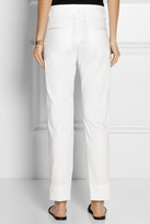 Jil Sander Stretch-cotton straight-leg pants