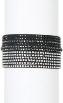 Swarovski Multi Row Crystal Wrap Bracelet