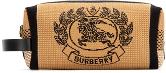 Burberry Archive Crest Embroidered Pouch
