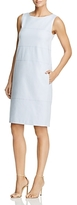Lafayette 148 New York Xandria Seamed Shift Dress