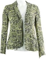 Diane von Furstenberg Green Silk Jacket for Women