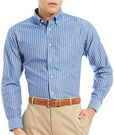 Daniel Cremieux Signature Non-Iron Royal Oxford Stripe Long-Sleeve Woven Shirt