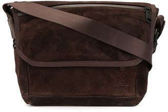 As2ov Panelled Messenger Bag