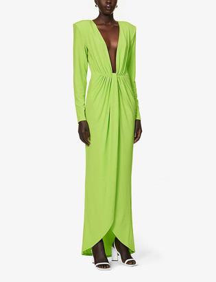 GAUGE81 Krasnodar stretch-woven maxi dress