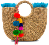 JADEtribe Fringe Tassel Small Basket
