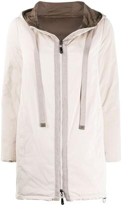 Peserico Reversible Drawstring Hood Jacket