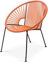 Mexa Ixtapa Lounge Chair, Tangerine