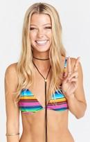 MUMU Zuma Triangle Bikini Top ~ Serape Party