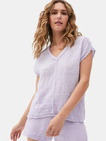Thumbnail for your product : Michael Stars Draya V-Neck Top