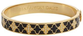Halcyon Days Gold and Crystal Agama Bangle