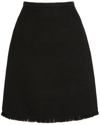 Giambattista Valli Tweed Mini Skirt