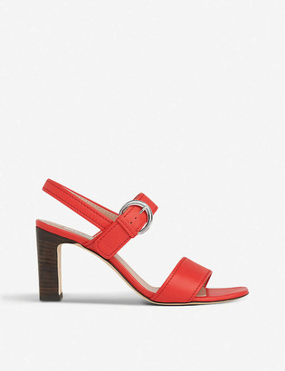 LK Bennett Natalie heeled leather sandals
