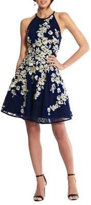 Xscape Evenings Floral A-Line Dress
