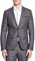 The Kooples Smocky Wavy Slim Fit Sport Coat
