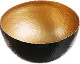 Just Slate Gold Serving Bowl