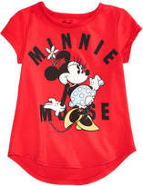 Disney Disney's Minnie Mouse Cotton T-Shirt, Little Girls
