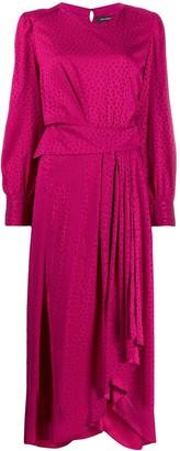 Isabel Marant Romina asymmetric dress