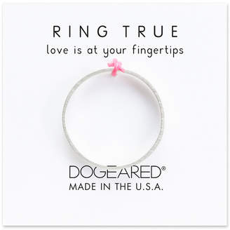 Dogeared Ring True Silver Ring
