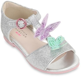 Sophia Webster Glitter Sandals W/ Appliques