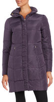 Ellen Tracy Quilted Faux Fur-Lined Jacket
