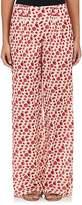 Rhié Women's Floral Cotton-Silk Pleated Pants