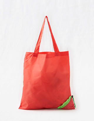 aerie Luckies Fruitful Reusable Bag - Strawberry
