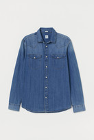 H&M Regular Fit Denim Shirt