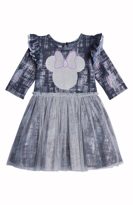 Pippa & Julie x Disney Minnie Foil Denim Tutu Dress