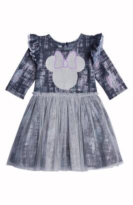 Pippa & Julie x Disney Minnie Foil Denim Tutu Dress