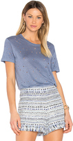 IRO Clay Tee in Blue