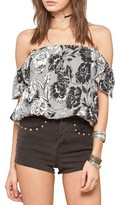 Amuse Society Women's Penny Lane Off The Shoulder Top