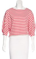 Max & Co. MAX&Co. Striped Crop Top