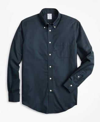 Brooks Brothers Non-Iron Regent Fit Micro-Check Sport Shirt