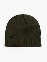 Saturdays Surf NYC Green Bobble-Knit Beanie Hat