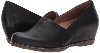 Dansko Liliana (Black Burnished Nubuck) Women's Shoes