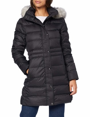 Tommy Hilfiger Women's TH ESS TYRA Down Coat with Fur Jacket