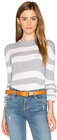 HELFRICH Lily Crew Neck Sweater in Gray. - size L (also in )