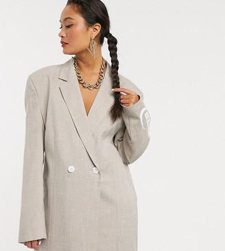 Collusion oversized blazer dress
