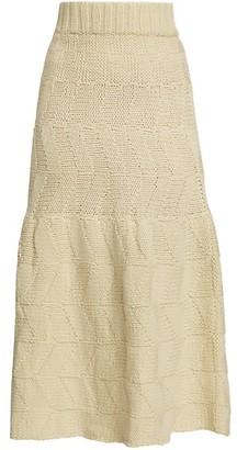 Rachel Comey Plano Wool Midi Skirt
