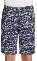 Gant Ocean-Print Cotton Shorts