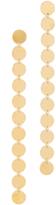 Saskia Diez Paillettes Earrings