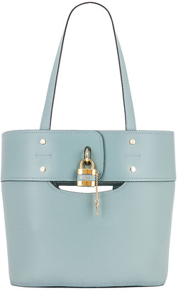 Chloé Small Aby Tote in Faded Blue | FWRD