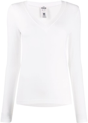 Wolford Aurora v-neck top