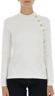 Balmain Button Embellished Sweater