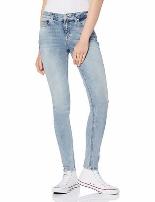 Tommy Jeans Hilfiger Denim Women's MID RISE SKINNY NORA BLTCL Skinny Jeans