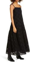 Merlette New York Ordesa Floral Eyelet Cotton Maxi Dress