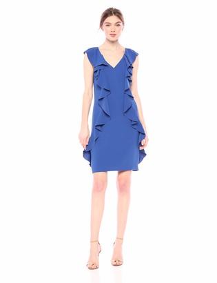 Trina Turk Trina Women's Sweetheart Ruffle Front Dress