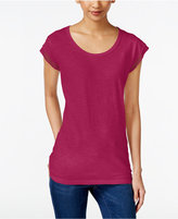 Style&Co. Style & Co Style & Co Petite Cap-Sleeve T-Shirt, Created for Macy's
